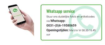 Whats-app Service: Ontvang binnen 2 uur een offerte!